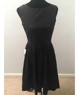Lindy Bop Women's Dress Size 6 Black Swing Sleeveless Fit & Flare Pockets - $29.69