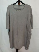 Polo by Ralph Lauren Men's t-shirt size 3XLT gray color SS crew neck EUC - $18.49