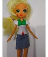 "MY LITTLE PONY EQUESTRIA GIRLS APPLEJACK 9"" DOLL - $14.99"