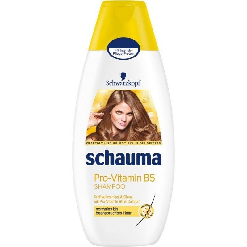 Schwarzkopf Schauma Pro-Vitamin B5 Calcium Shampoo XL 400ml-Made in Germany