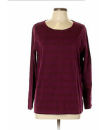 Purple Top with Rows of Sparkle size M (Runs Large to Tag Size)  Pre-Owned - $9.50