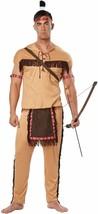 California Costumes Native American Brave Adult Mens Halloween Costume 01314 - $29.99