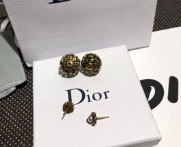 Authentic Christian Dior 2019 CRYSTAL STAR BEADS Double Pearl Tribales Earrings image 12