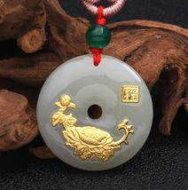 Gn flower jade necklace for unisex good quality best gift hot selling free shipping 309 thumb200