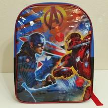 Marvel Captain America Civil War Iron Man Children's Glossy Backpack NWT - $12.95