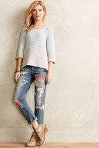 NEW Anthropologie Felted Lace Pullover by Knitted & Knotted $148 Lace SMALL - $47.52