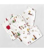 Pottery Barn Teen Peanuts Flannel LARGE Pajama Set Organic CHRISTMAS NEW... - $59.00
