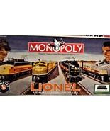 Monopoly - Lionel Collector's Edition  - Postwa ERA - $25.50