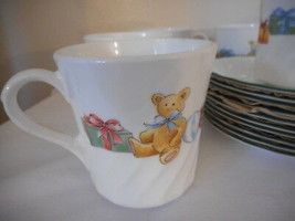 Corelle NWOB Holiday Magic Cup Mug one cup / mug only Discontinued Pattern  - $8.90