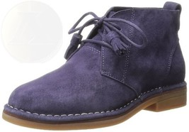 Hush Puppies Womens Cyra Catelyn Boot Purple Suede 6.5 B M Us New Ships ... - $102.42