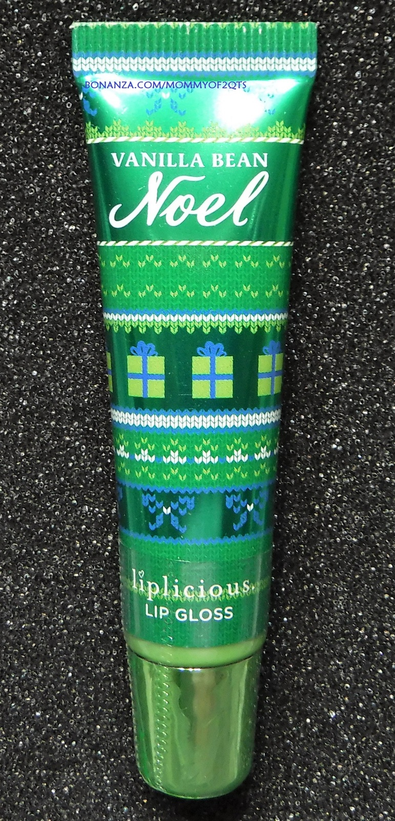 Primary image for Bath Body Works Liplicious VANILLA BEAN NOEL Lip Gloss Sealed READ