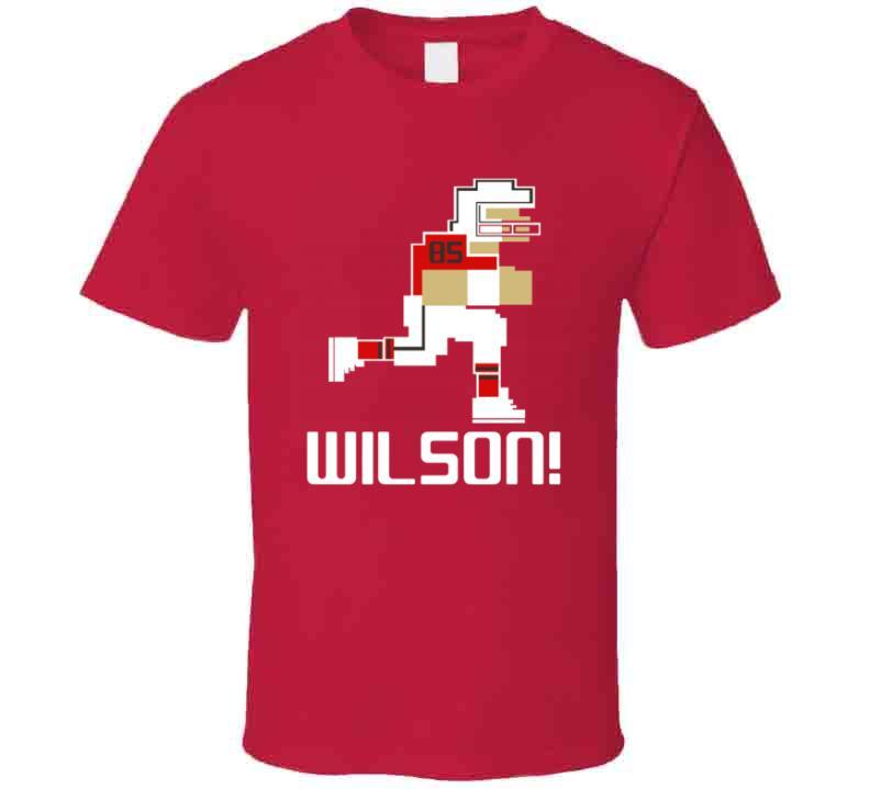 Bobo Wilson # 85 Tecmo Bowl Tampa Bay Football Athlete Fan T Shirt