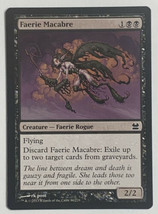 Faerie Macabre, Magic The Gathering MTG Card Modern Masters Set LP Light Play - $3.39