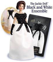 Franklin Mint Jackie Kennedy Doll Black+White P... - $36.95