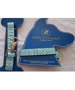"""Dog Leash & Large Collar By Barker & Meowsky a paw firm 5ft leash 16""""-24... - $10.77"""
