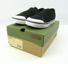 New Keen Women's Slip-On Shoes with Gore Criss Cross Strap Elsa Size 5 Black NIB - $35.59