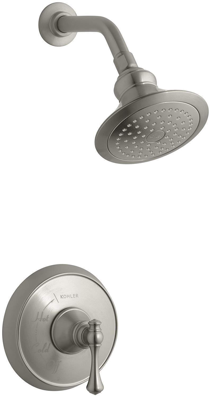 Kohler K-T16114-4A-BN  Revival Rite-Temp Pressure Balancing Shower Faucet Trim