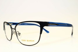 NEW AUTHENTIC TORY BURCH  TY1052 3196 NAVY EYEGLASSES FRAME TY 1052 RX 5... - $147.51