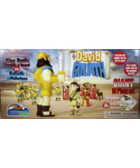 David & Goliath 16 Piece Battle Play Set NEW Armies of Israel & Philistines - $27.98