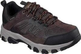 Men's Skechers Relaxed Fit Selmen Enago Hiking Shoe Chocolate - $104.51