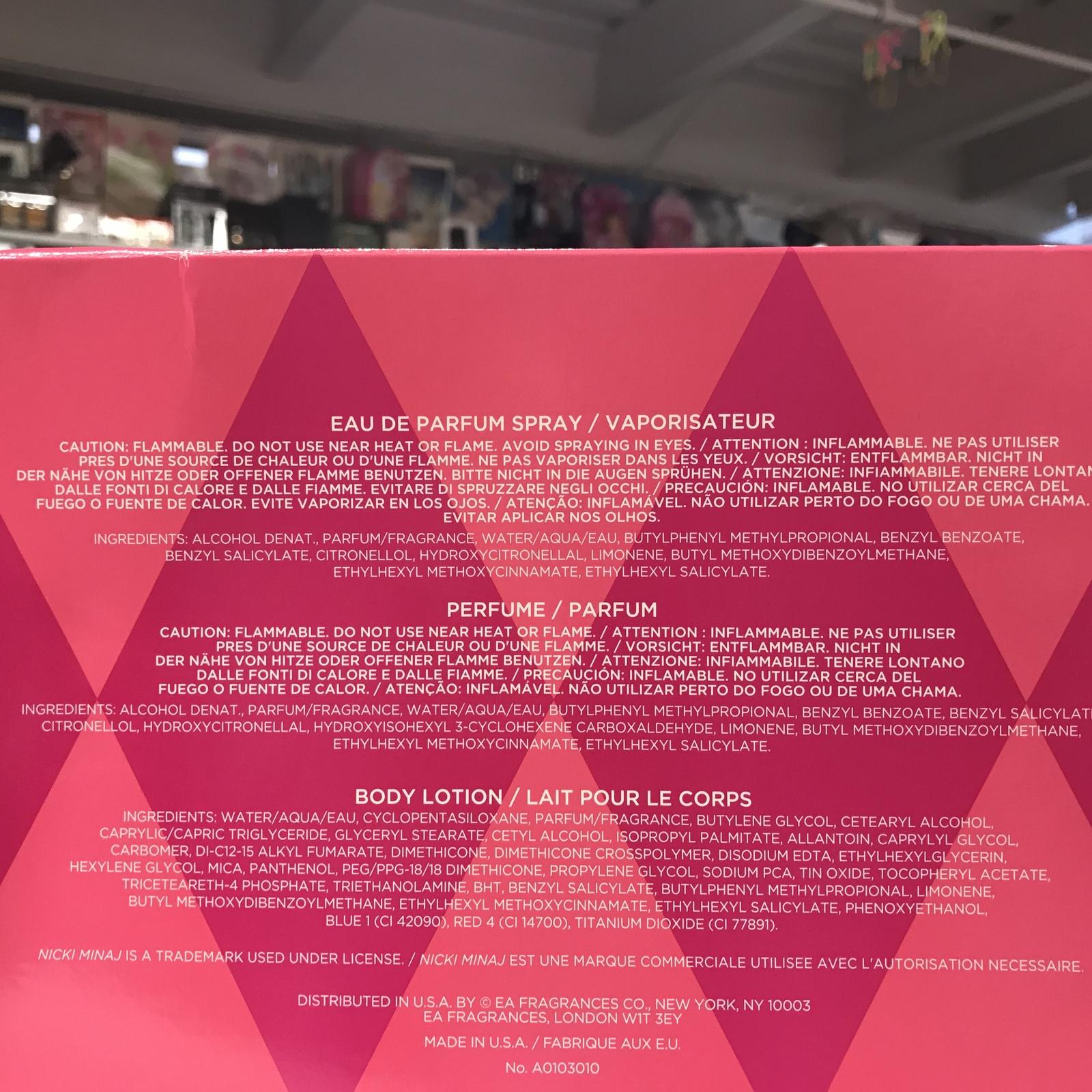 Pink Friday by Nicki Minaj 3PCs, 1.0 + 0.25 + 0.25 + 1.7 Body Lotion, Woman Set  image 3