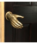 DOOR HANDLE BRONZE HAND MADE SCULPTURE ART EXTERIOR INTERIOR HOME DECOR ... - $650.00