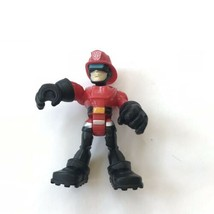 Rescue Bots Cody Burns Heroes Transformers Heatwave  Fireman Figure Toy - $9.89