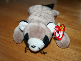 Ringo the Raccoon Beanbag Plush Doll ty Original Beanie Babies - D.O.B. 7/14/95 - $7.99