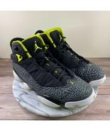 Nike Jordan 6 Rings Black Green Venom Sneakers Mens Size 11 322992-033 - $159.95