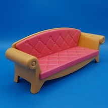 Little Tikes Grand Mansion Dollhouse Sofa Couch 5501 Living Room 1995 - $19.99
