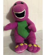 Vtg 1992 Playskool Lyons Singing Talking Barney Plush Doll #71245 Tested. - $22.09