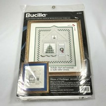 Bucilla House of Hardanger Counted Cross Stitch Embroidery Picture Kit 4... - $54.44