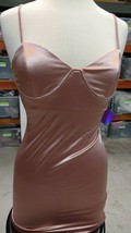 FOREVER 21 Pink Cami Metallic Dress MEDIUM NWT Party Collection - $12.34