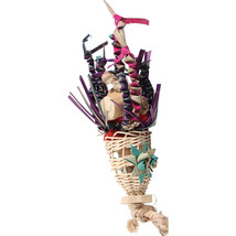 A&E Cage Multi Happy Beaks Squiddy Bird Toy Small - $30.89 CAD