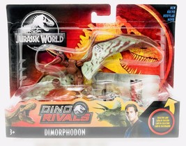 Jurassic World Dino Rivals Attack Pack with Collector Card Dimorphodon GFG62 NEW - $28.88