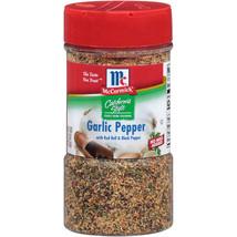 2 Packs McCormick California Style Coarse Grind Blend Garlic Pepper (7.5... - $24.70