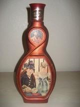 Vintage 1970 Beam's Choice Jim Beam Gare Saint Lazare Manet Glass Decant... - $11.26