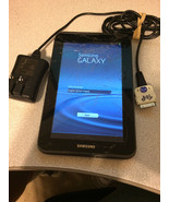 Samsung Galaxy Tab 2 GT-P5113 8GB Wi-Fi  7in. Silver Cracked Screen, Works - $22.60