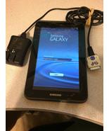 Samsung Galaxy Tab 2 GT-P5113 8GB Wi-Fi  7in. Silver Cracked Screen, Works - $25.22