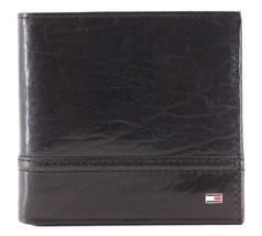 Tommy Hilfiger Men's Leather Wallet Hipster & Valet Billfold Rfid 31TL120002 image 2