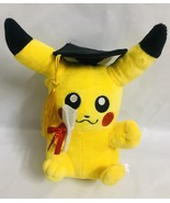 "Graduation POKEMON PIKACHU 7"" Plush Super Cute !!! - $23.72"