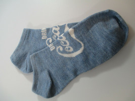 Coca-Cola No Show Ladies Socks Shoe Size 4-10 Coca-Cola Drink Coca-Cola Blue - $2.48