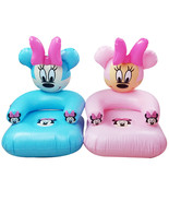 2 to 6 years old lovely portable cartoon Mickey Mouse PVC inflatable sof... - $28.24