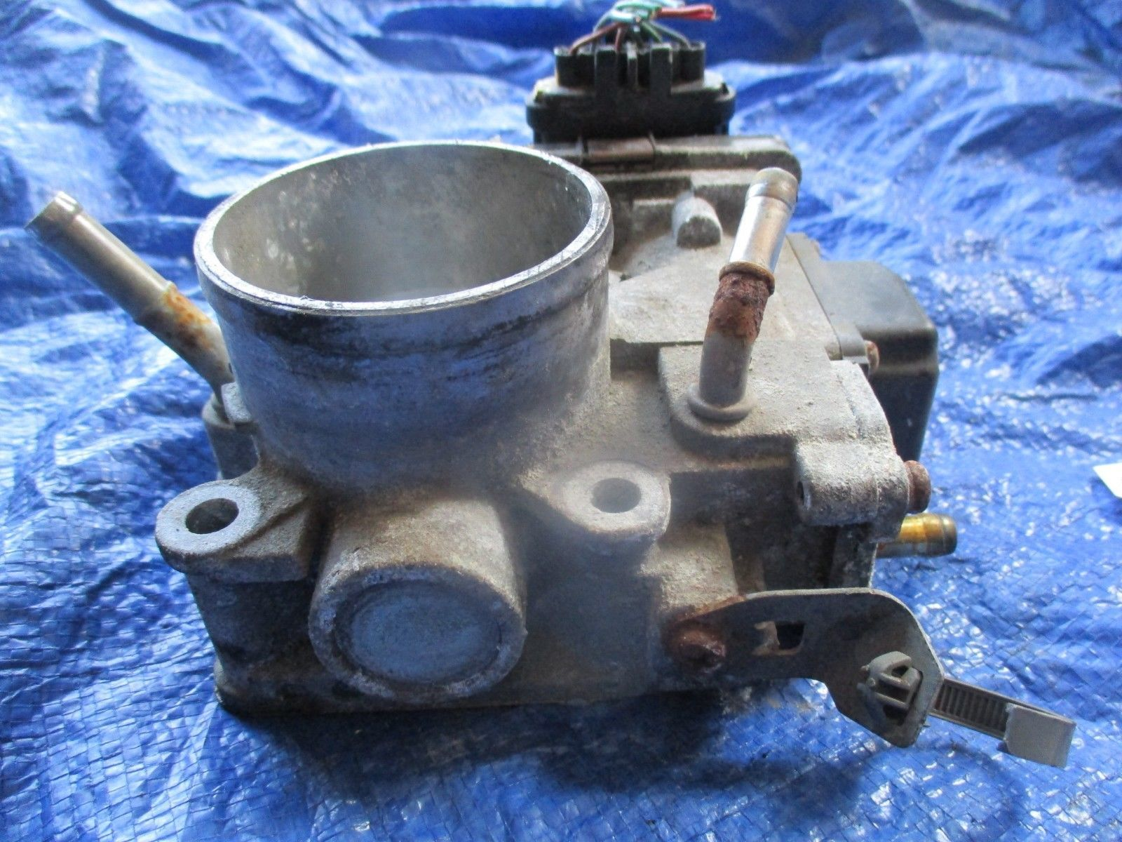 2004 Acura TSX K24A2 throttle body assembly OEM engine motor K24A base 782 GMB1A image 4