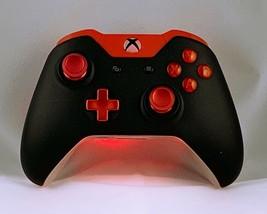 """Custom Microsoft Xbox One Controller """"Red Black-Lit V2 in Color"""" (Model ... - $71.21"""