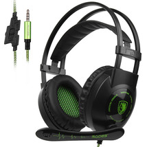 Sades SA-801 3.5mm Gaming Over Ear Headsets with Microphone Volume Contr... - $39.98