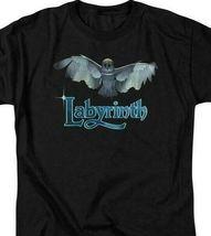 Labyrinth David Bowie Fantasy film Retro 80's adult graphic t-shirt LAB119 image 3