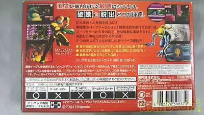 Nintendo Metroid Zero Mission Game Boy Advance Software