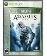 Assassin's Creed (Microsoft Xbox 360, 2007) Platinum Hits - No Manual - $2.96