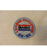 ABC League Champion 1989-1990 Patch Blue Border American Bowling Congress - $7.43